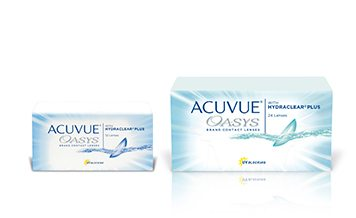 ACUVUE OASYS (12 and 24 pack)