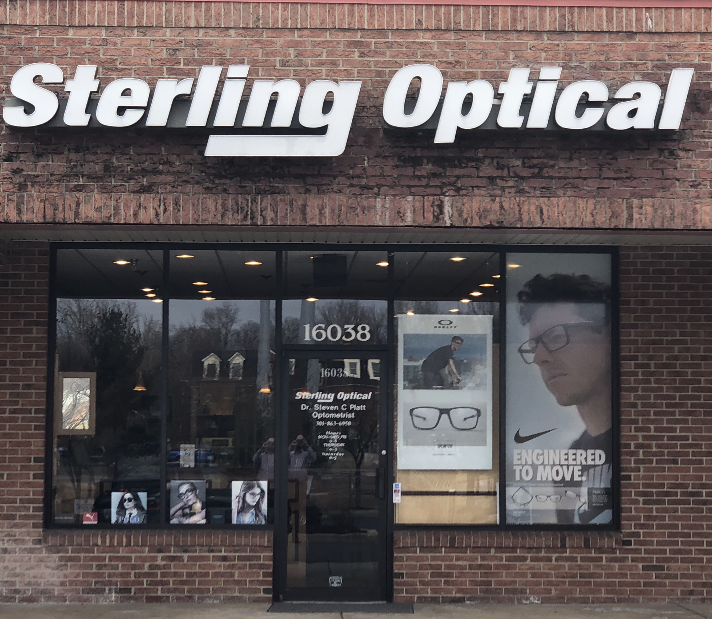 Sterling Optical California, MD Location Storefront