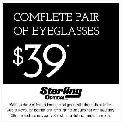 Sterling Optical Newburgh Complete Pair $39 Offer