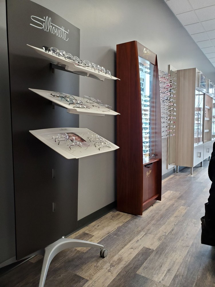 Inside of Sterling Optical Newburgh store